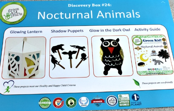 earth day activities nocturnal animals