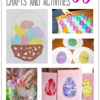 9 Easter Egg Crafts and Activities and Mom's Library #89