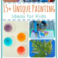 15+ Painting Ideas for Kids and Mom's Library #93