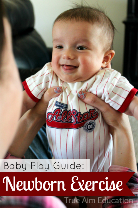 baby play guide newborn exercises