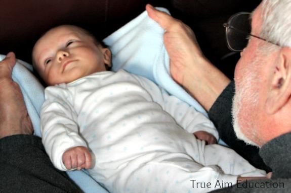 baby play newborn exercise