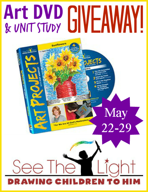 see the light art lesson giveaway