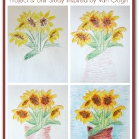 Giveaway! Sunflower Unit Study & Art Project for Kids