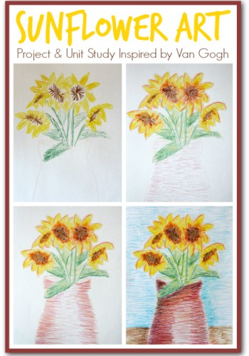 van gogh art lesson for kids