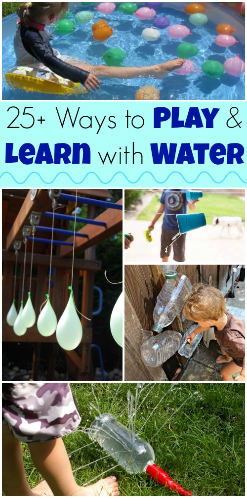 25+ of the funnest ways to play with water