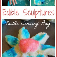 Edible Sculptures for Tactile Sensory Play