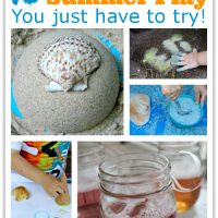 10 Summer Play and Create Recipes