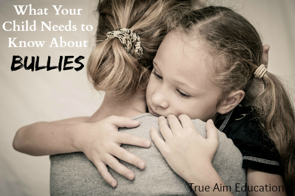 What your child needs to know about bullies - tips on what to say.