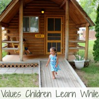 Values Children Learn While Camping #CampKOA