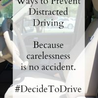 I Was Lucky #DecideToDrive
