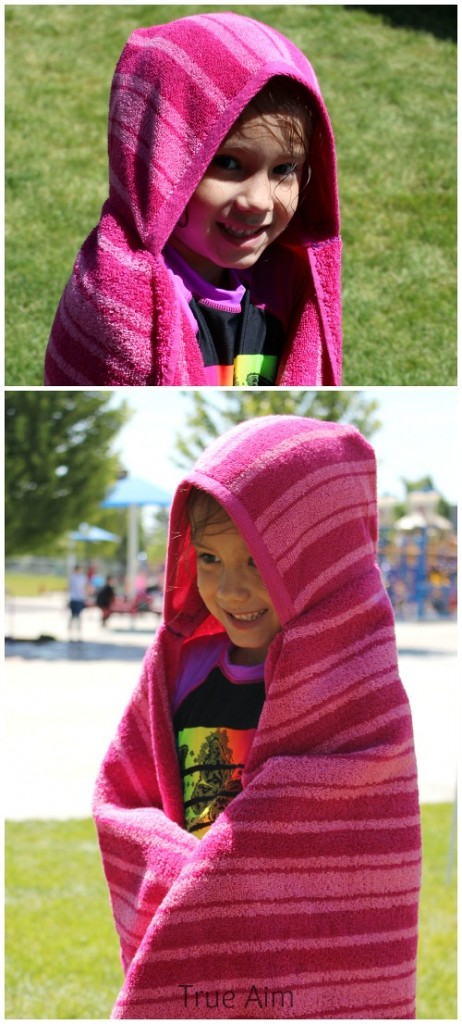 diy hooded towels