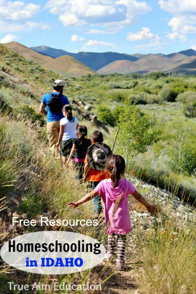 homeschooling in idaho free resources