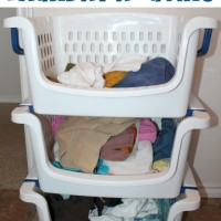 Stop Sorting Laundry! #LaundrySimplified