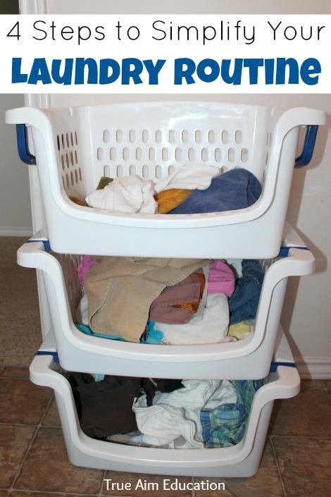 laundry routine
