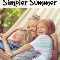 10 Tips for a Simpler Summer and Mom's Library #97