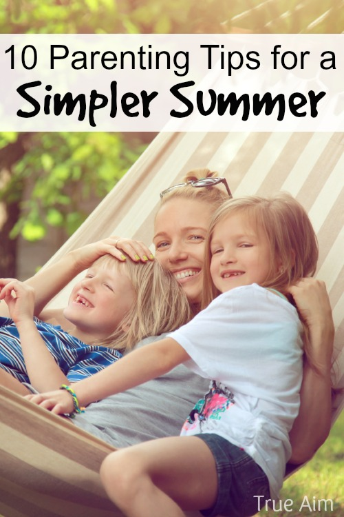 10 tips for a simpler summer