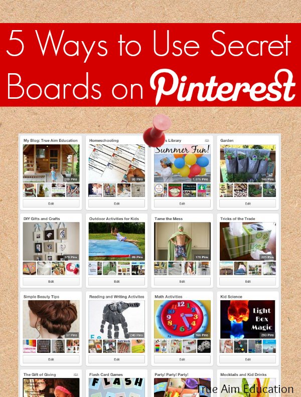5 ways to use secret boards on pinterest