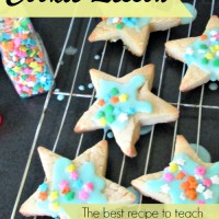Cooking with Kids: Cookie Lesson