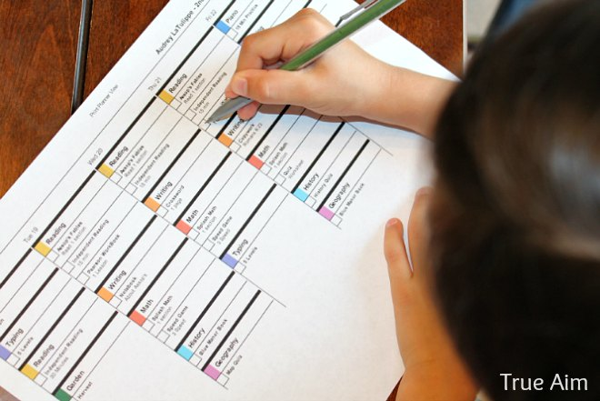 easy online lesson planner