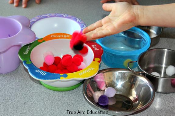 pom pom activity for kids