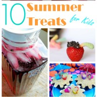 10 Summer Treats For Kids and Mom's Library #98
