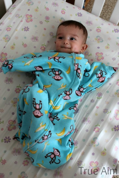 Help Baby Sleep With A New Kind Of Sleep Sack True Aim
