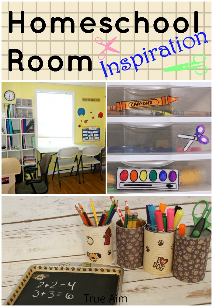 Homeschool room ideas and organization