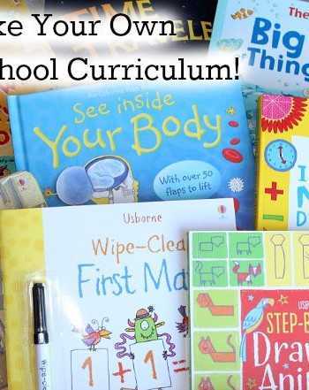 Make Your Own Homeschool Curriculum with Usborne Books!