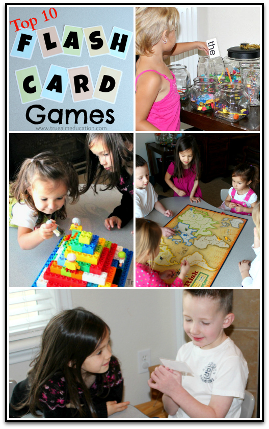The best flash card games