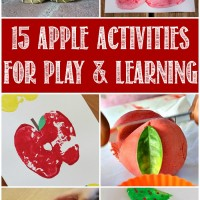 15 Apple Activities for Play and Learning Mom's Library #104