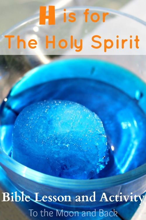 bible lesson for kids holy spirit activity