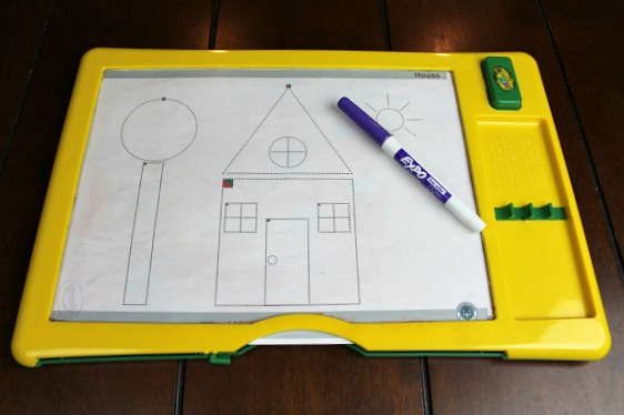 dry erase board for preschool