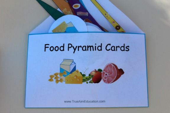 photograph relating to Food Pyramid Printable identify Practice Balanced Alternate options: Meals Categories Printable History Folder