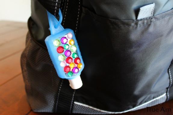 sanitizer holder for purse