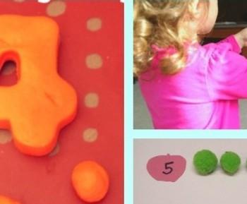 10+ Preschool Math Activities and Moms Library #106