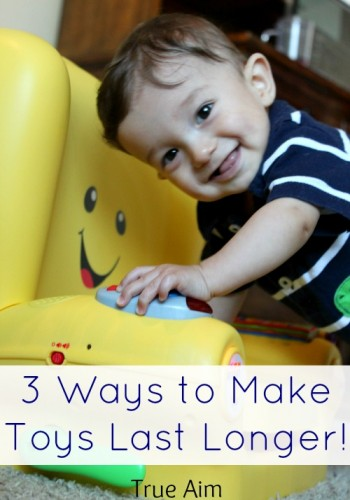 3 Ways to Help Toys Last Longer