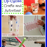 10 Up-Cycle Crafts and Activities! Mom's Library #107