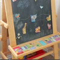 DIY Magnetic Chalkboard