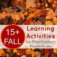 Giveaway! 15+ Unique Fall Learning Activities for Preschoolers