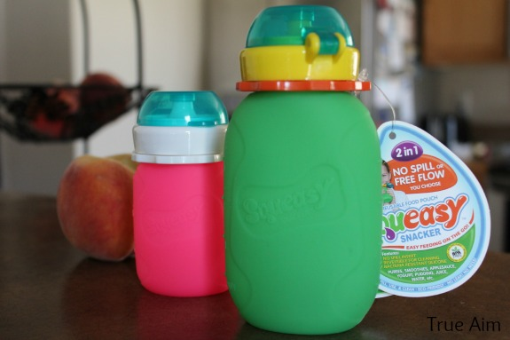 Refillable Food pouch - squeasy snacker