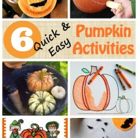 6 Pumpkin Activities for Kids and Mom's Library #113