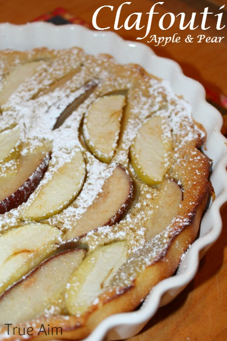 apple and pear Calfouti