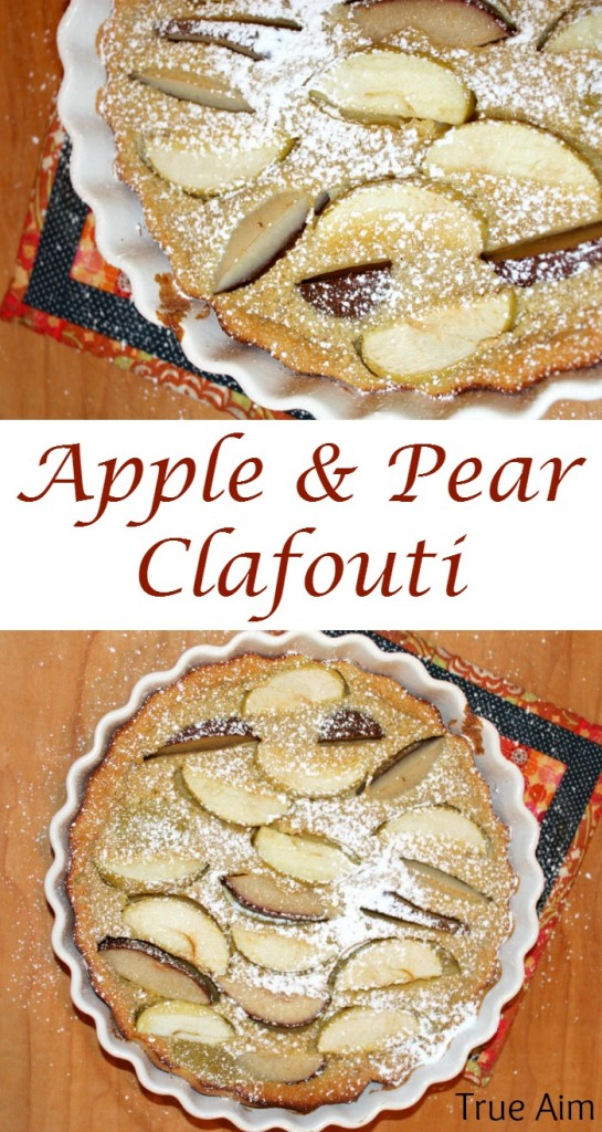 apple and pear clafouti recipe