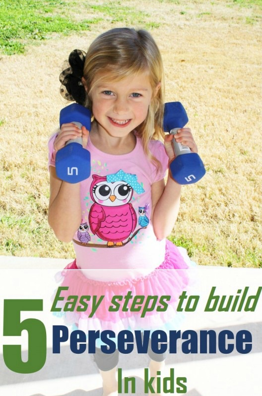 building perseverance in children