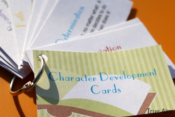 character development cards printables free