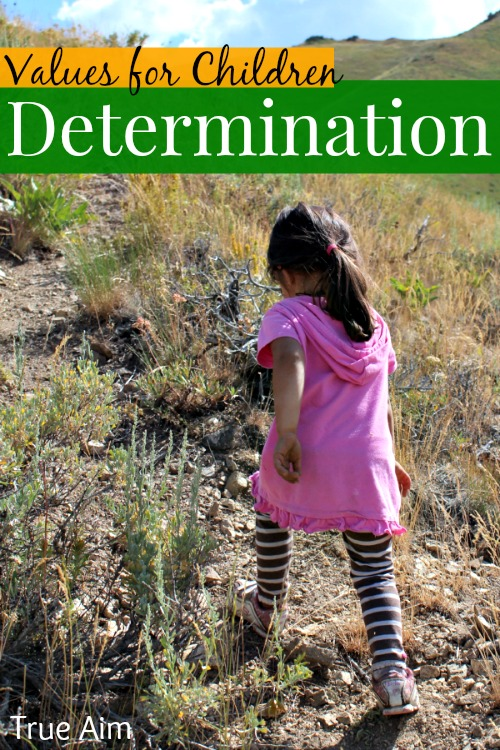 determination character development for kids