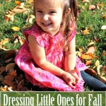 3 Frugal Tips for Dressing Baby for Fall