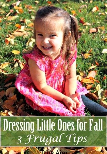 frugal tips for dressing children for fall