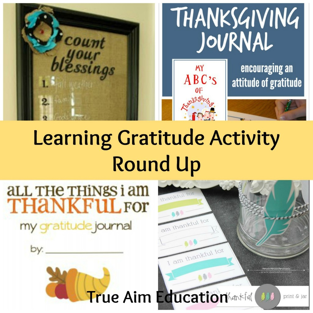 A great list of activities that you can do throughout the year to encourage kids to have a thankful heart!