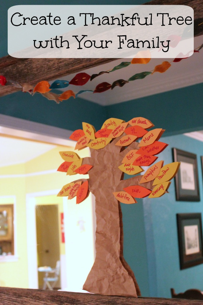 Thankful Tree for families